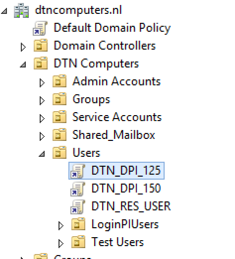 Set DPI through group policy (GPO) to make it work with RES