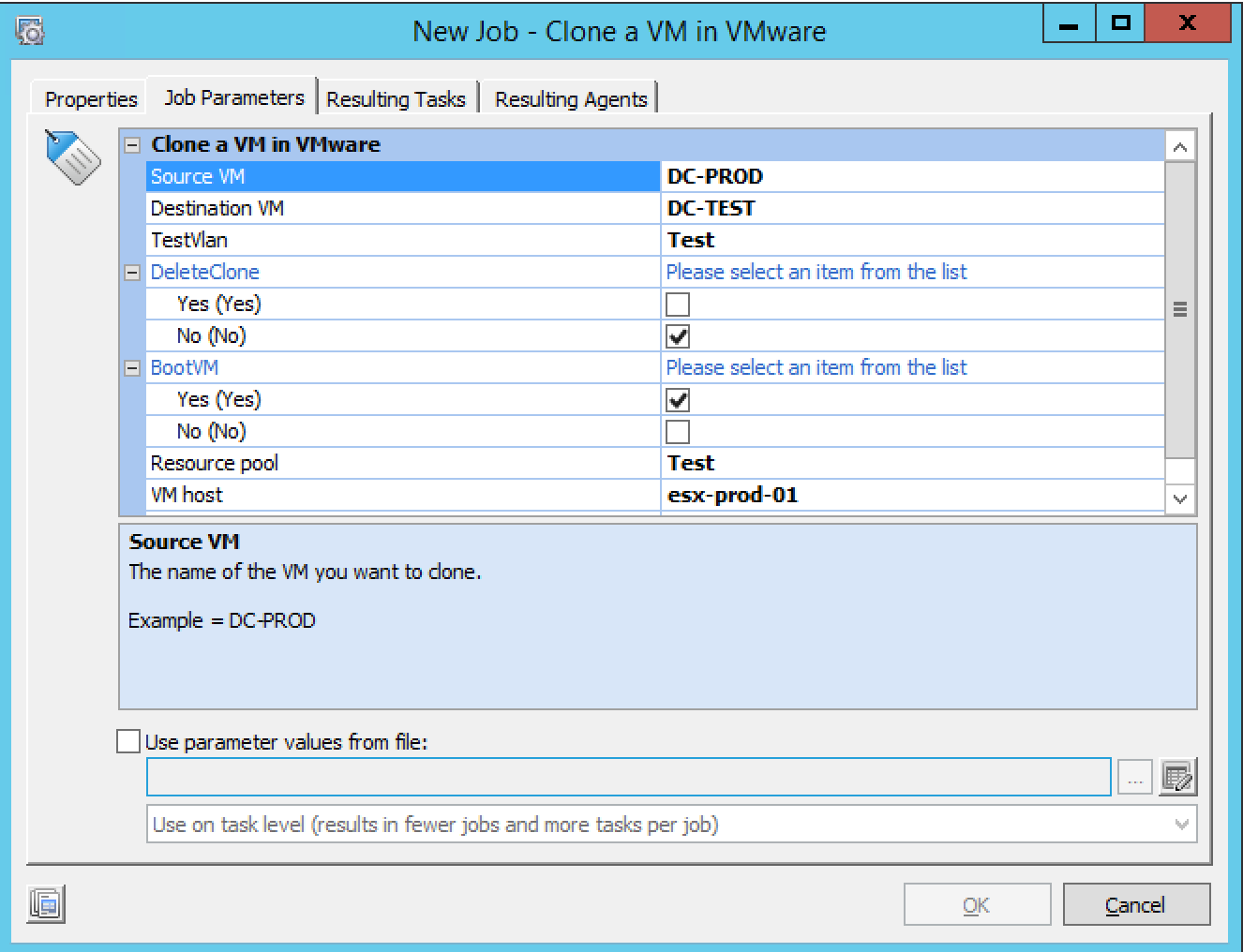 Automate the creation of an Isolated Test Environment in VMware and